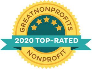 2020 Top-rated Nonprofit Award from GreatNonprofits